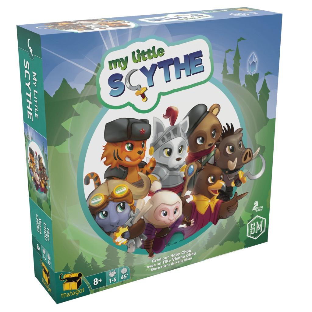 Test - My Little Scythe – Plateau Marmots concernant Jeux En Ligne 6 Ans