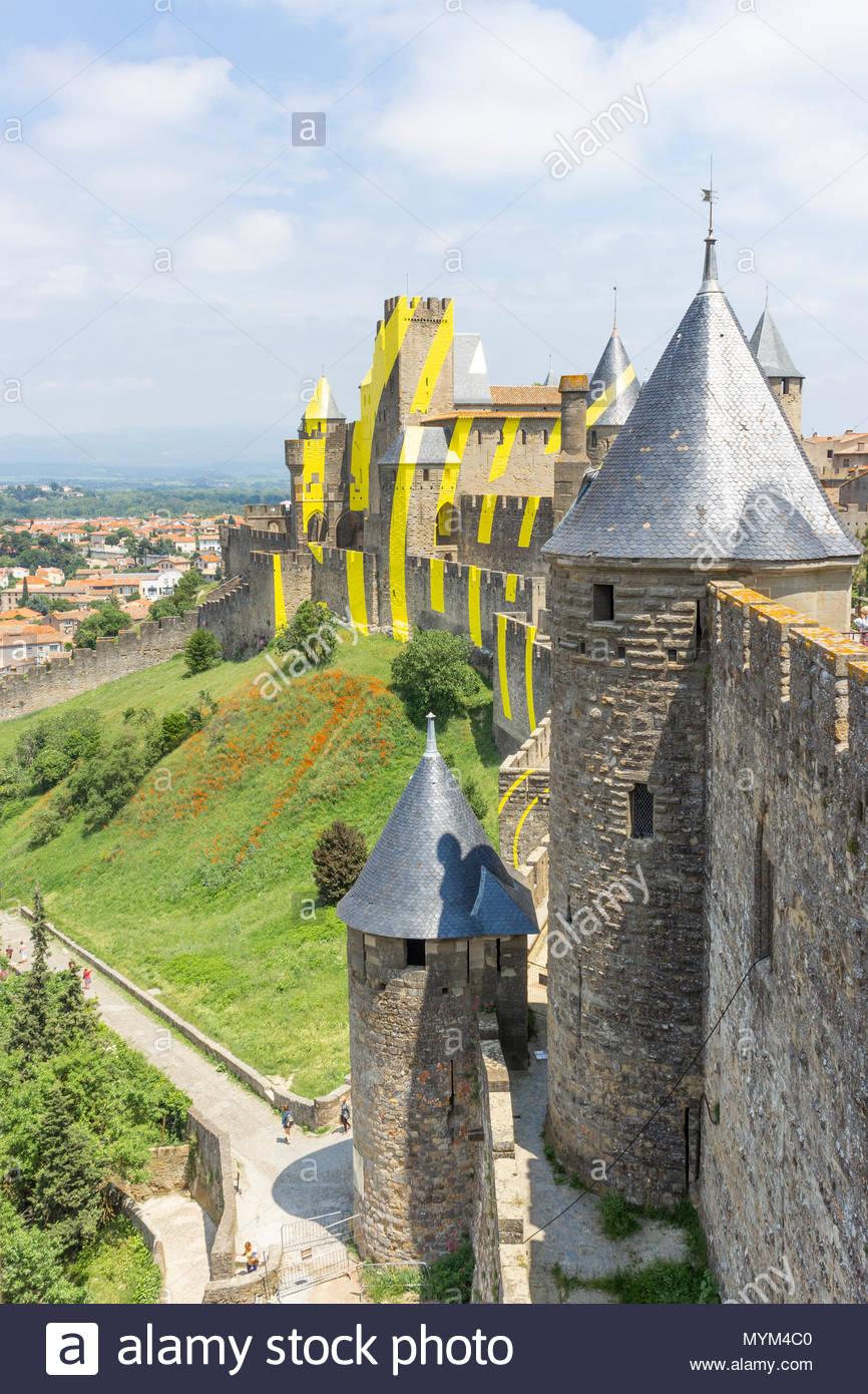 The Cité Of Carcassonne, French Department Of Aude serapportantà Liste Region De France