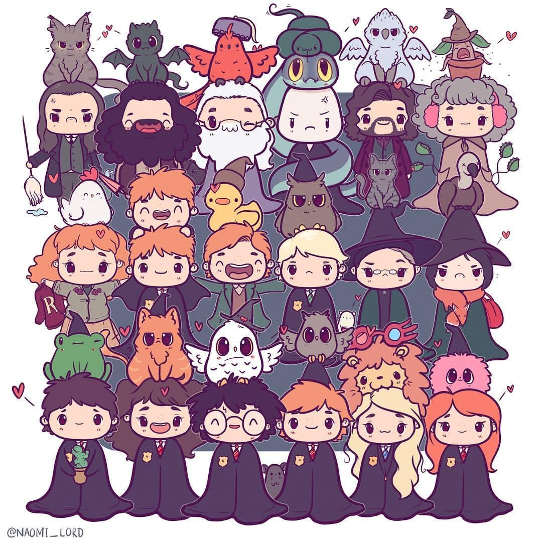 The Fred And George Made Me Cryyyyy | Harry Potter Animé encequiconcerne Dessin D Harry Potter