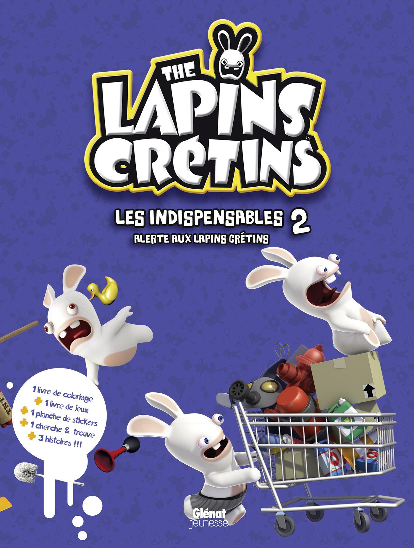 The Lapins Crétins - Activités - Alerte Aux Lapins Cretins dedans Lapin Crétin À Colorier