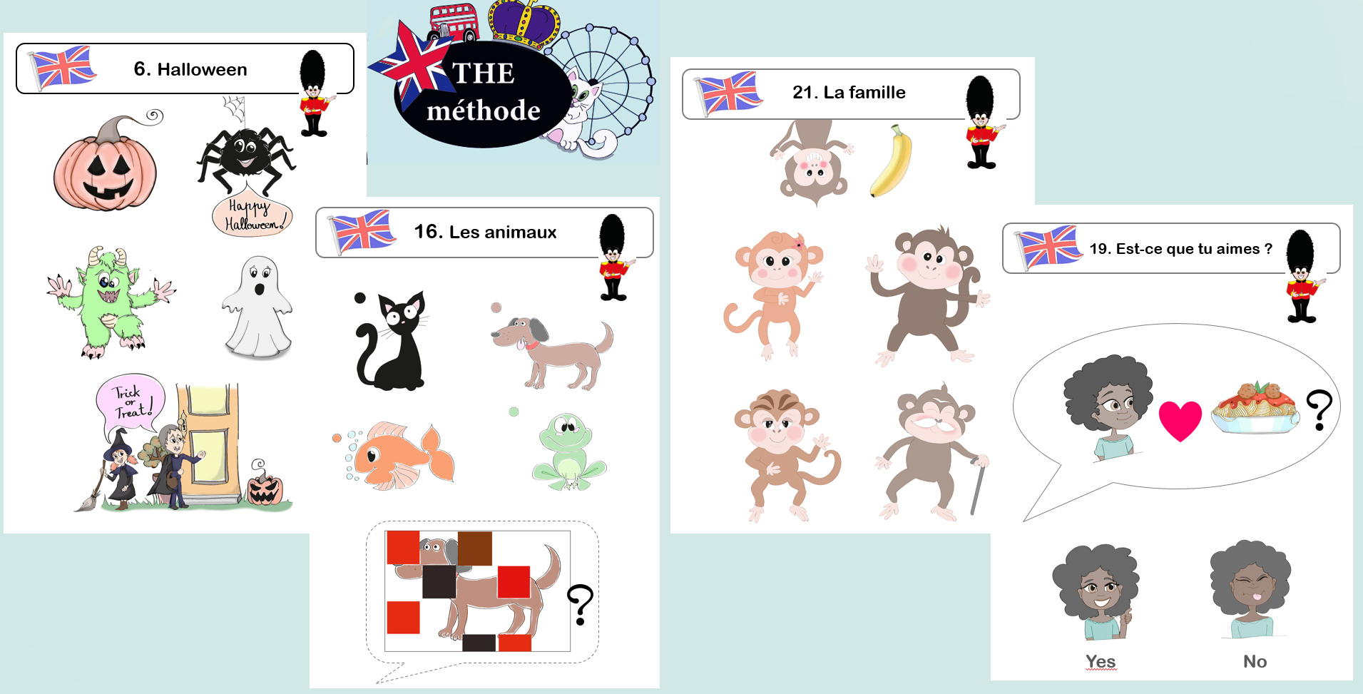 The Méthode, La Méthode D'anglais Pour Les Gs Cp Ce1 (2 à Jeux En Anglais A Imprimer