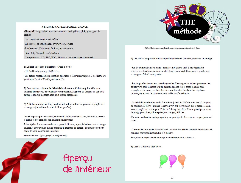 The Méthode, La Méthode D'anglais Pour Les Gs Cp Ce1 (2 encequiconcerne Jeu En Anglais À Imprimer