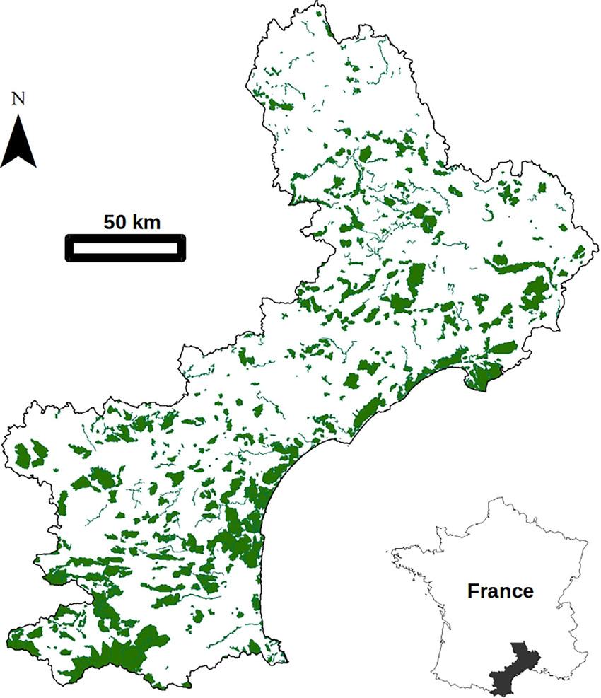 The Study Region (Languedoc Roussillon, France) And The serapportantà Liste Region De France