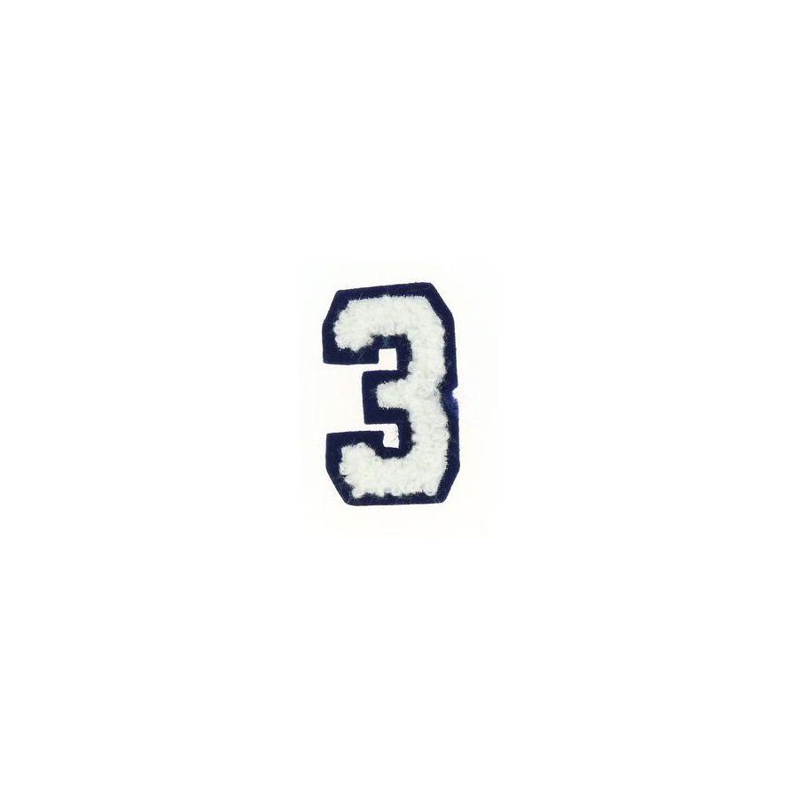Thermocollant Recreatys Collection Chiffre 3 avec Chiffre A Decouper