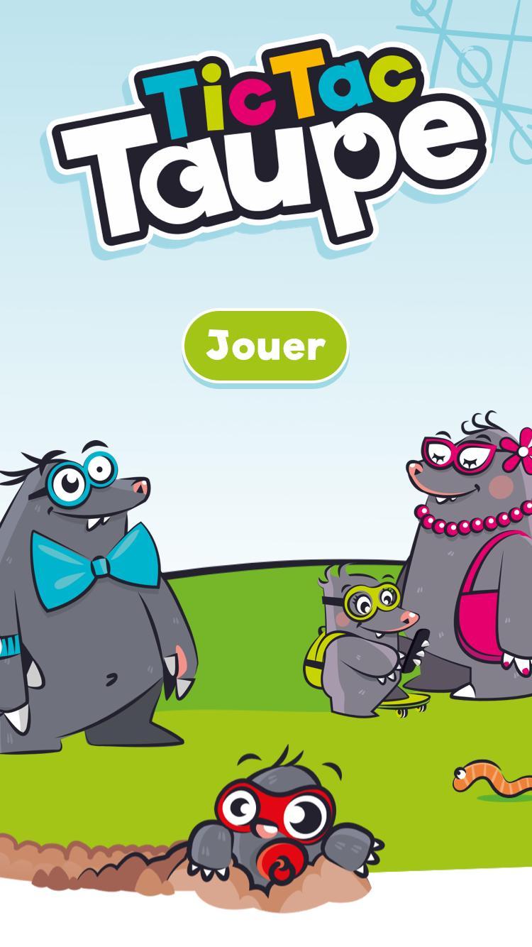 Tic Tac Taupe Pour Android - Téléchargez L'apk dedans Jeux De Taupe