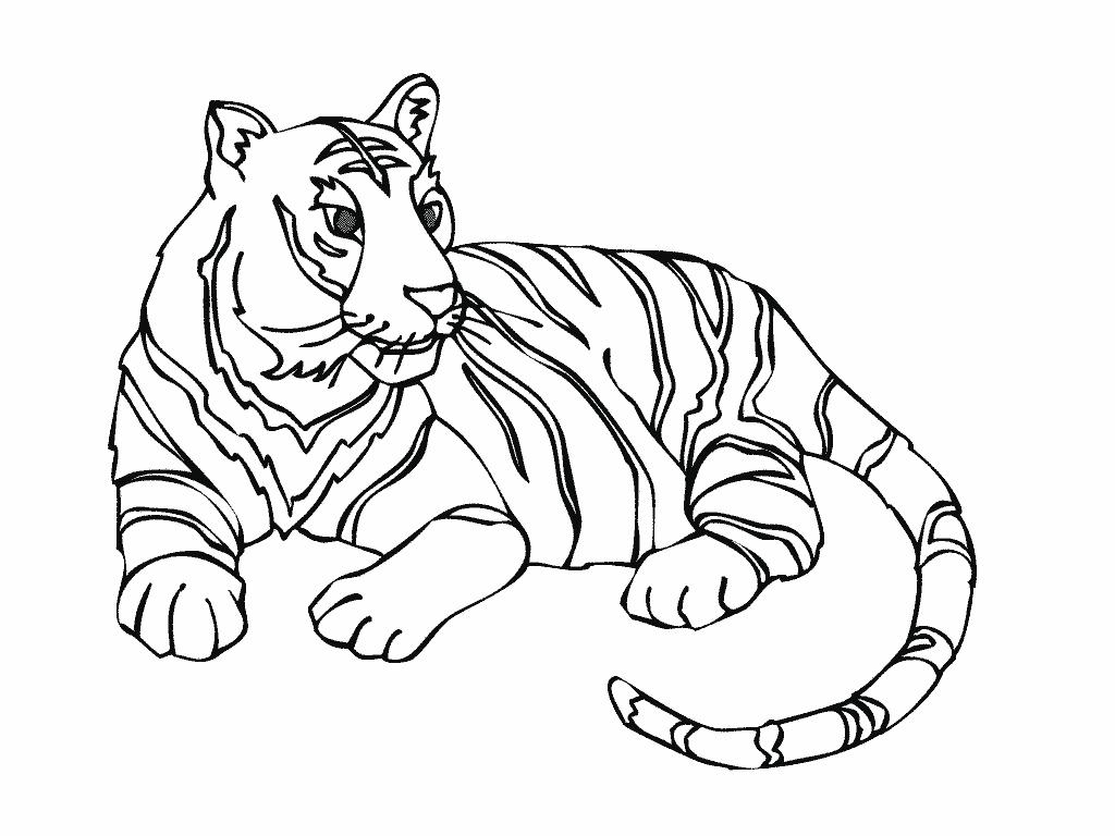 Tigre #16 (Animaux) – Coloriages À Imprimer intérieur Animaux A Dessiner Imprimer