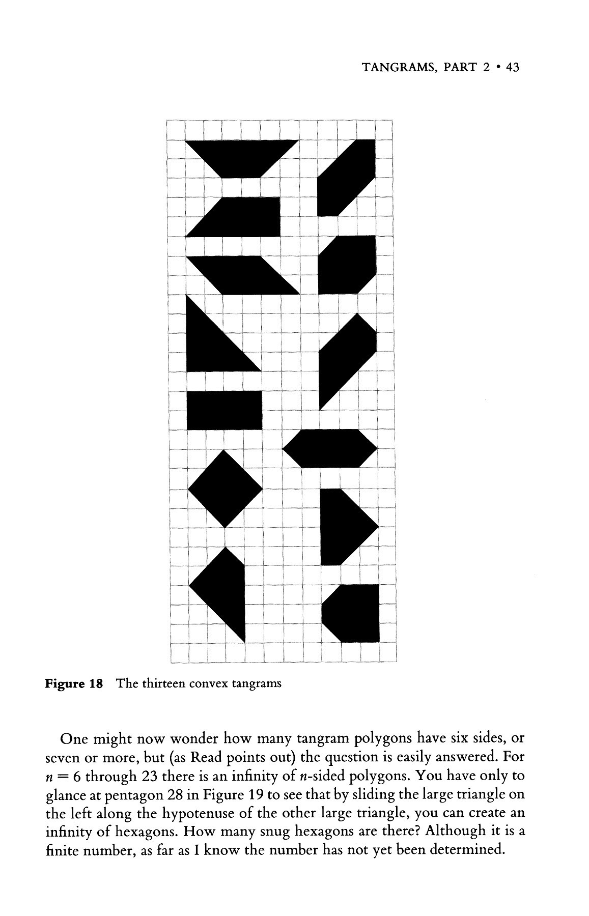 Time Travel & Other Mathematical Bewilderments Pages 51 destiné Tangram Cycle 3