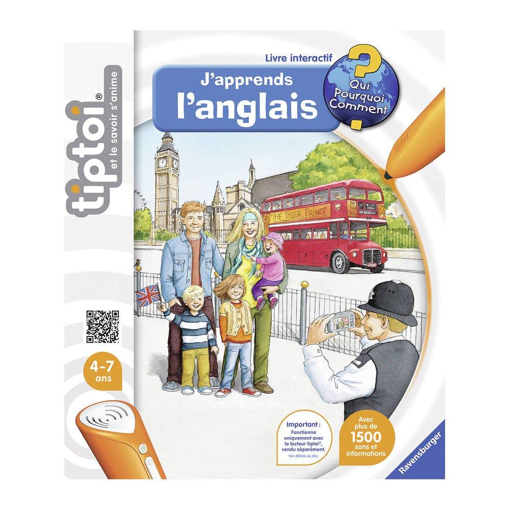 Tiptoi - J'apprends L'anglais intérieur Jeux Educatif 7 Ans