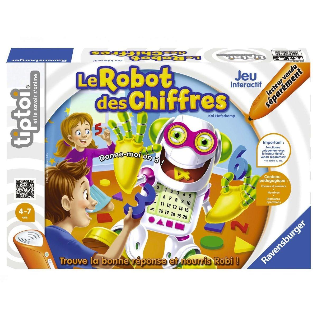 Tiptoi® - Le Robot Des Chiffres | Jeu Interactif, Jeu avec Jeux Societe Interactif