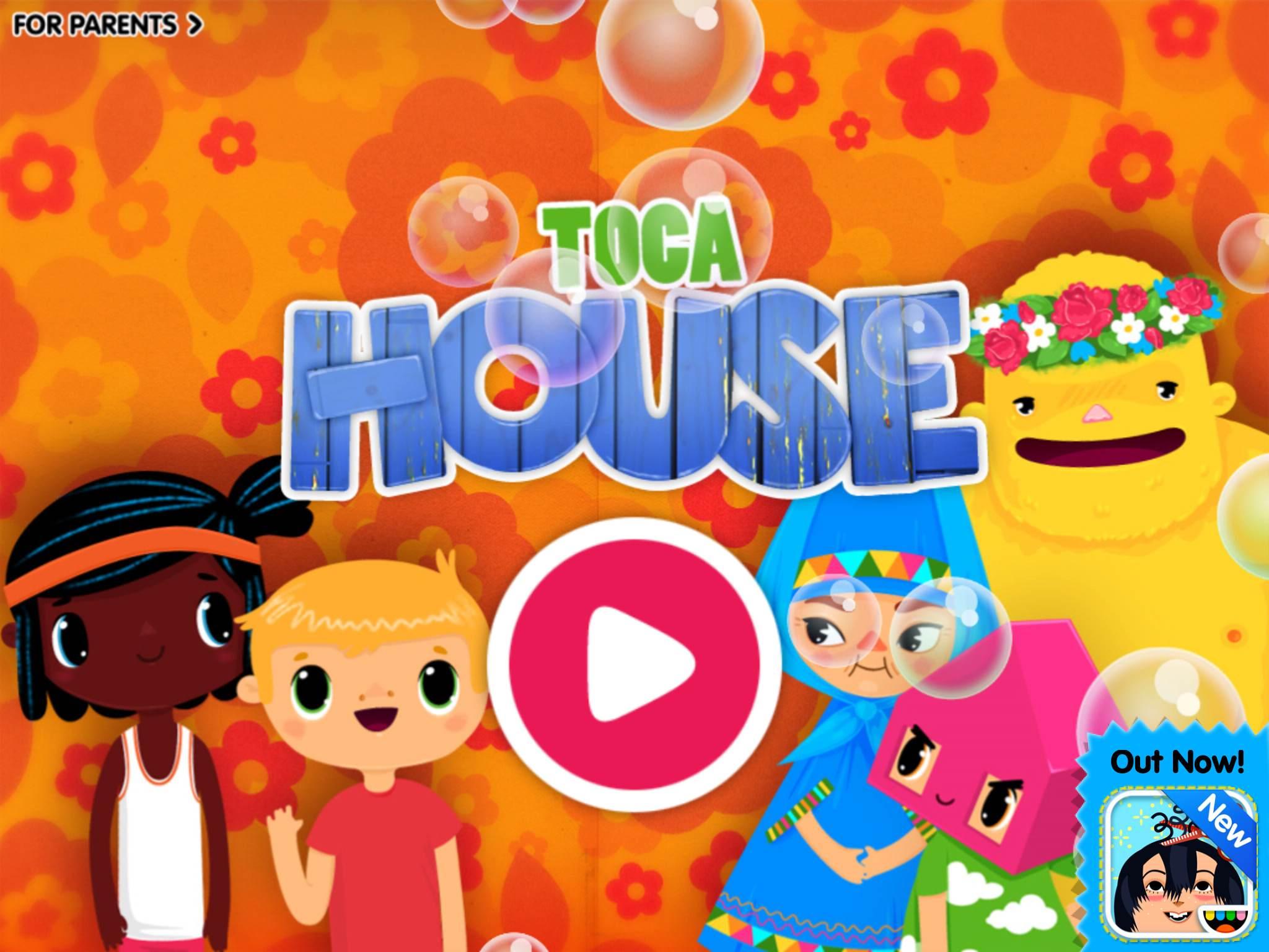 Toca House : Jeux D'imitation Pour Les Plus Petits ⋆ La encequiconcerne Telecharger Jeux Enfant