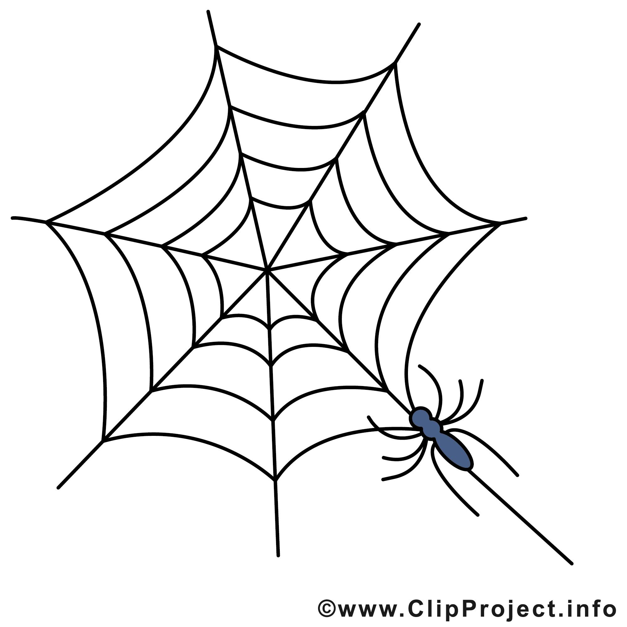 Toile D'araignée Image - Halloween Clipart - Halloween tout Dessin Toile Araignée