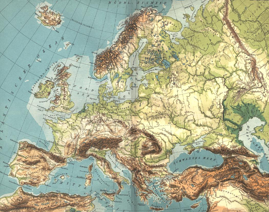 Tóng-Àn:europe Geographique Grande – Wikipedia destiné Carte Géographique De L Europe