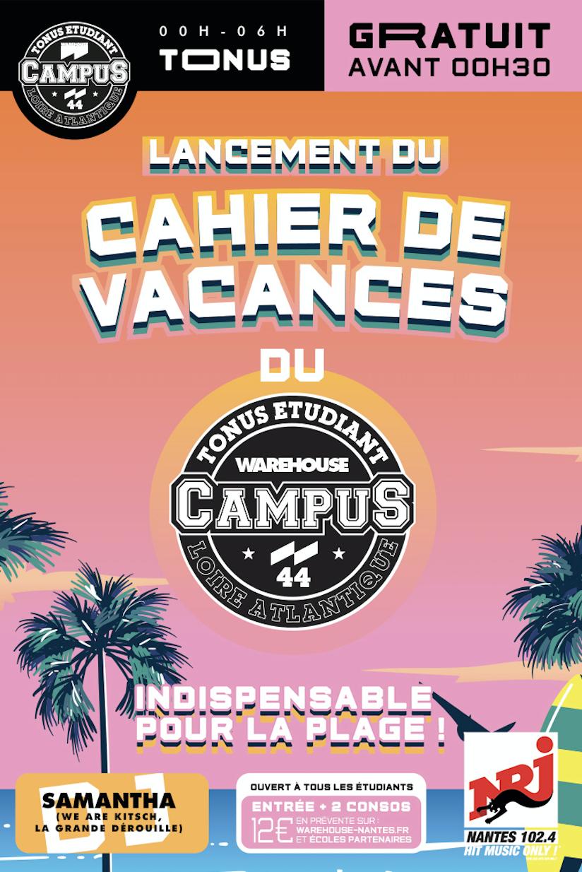 Tonus - Lancement Du Cahier De Vacances [Gratuit Avant 00H30 intérieur Cahier De Vacances Gratuit En Ligne