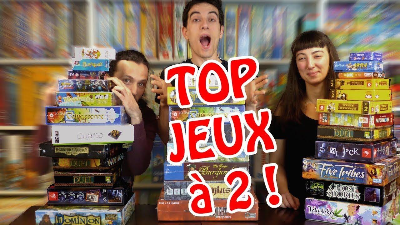 Top 10 Des Jeux De Société À 2 Joueurs - Le Top 10 Idéal tout Jeux A Deux En Ligne