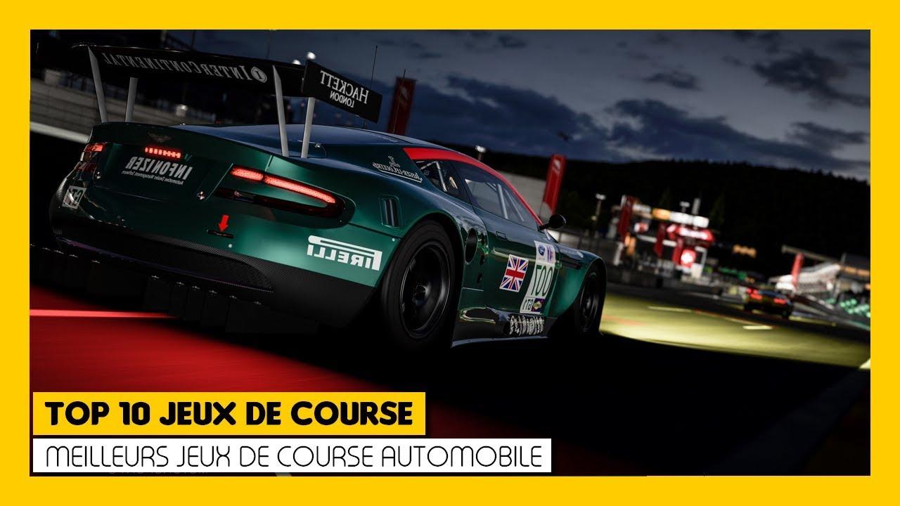 Top 10 Des Meilleurs Jeux De Course Automobile intérieur Les Jeux De Voiture De Course