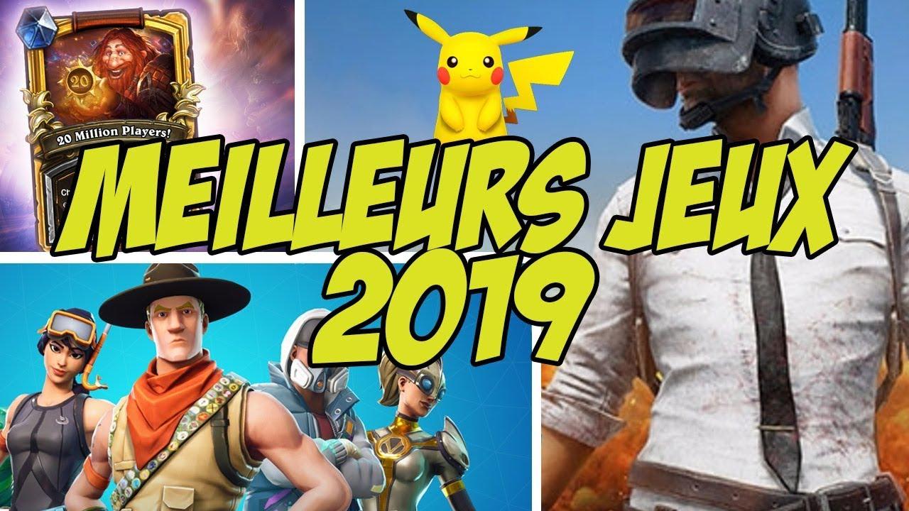 Top 10 Des Meilleurs Jeux Mobiles Pour 2019 ! avec Application Jeux Gratuit Pc