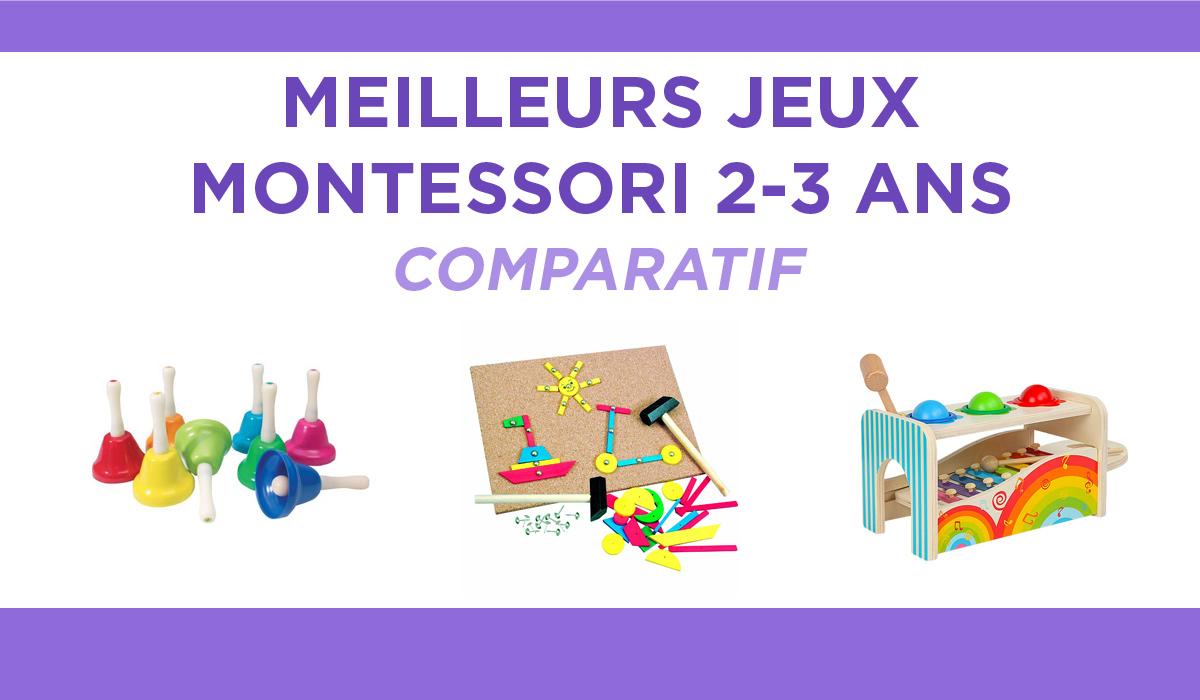 Top 10 Des Meilleurs Jeux Montessori 2-3 Ans : Nos Tests Et intérieur Jeux Educatif Enfant 2 Ans
