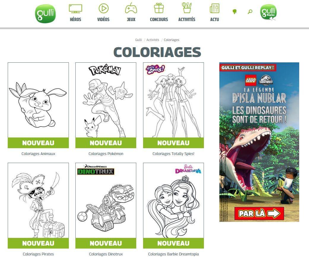 Top 5 Des Sites Pour Imprimer Des Dessins À Colorier avec Faire Coloriage Gratuit Sur Ordinateur