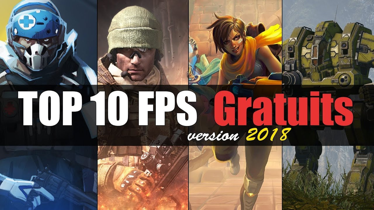 Top Fps Gratuits 2018 Sur Pc tout Application Jeux Gratuit Pc