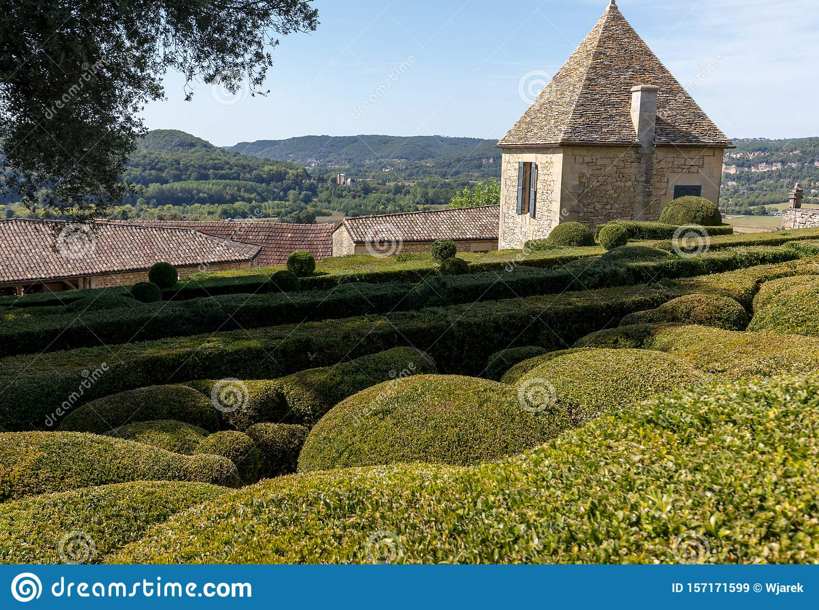 Topiary In The Gardens Of The Jardins De Marqueyssac In The intérieur Region De France 2018