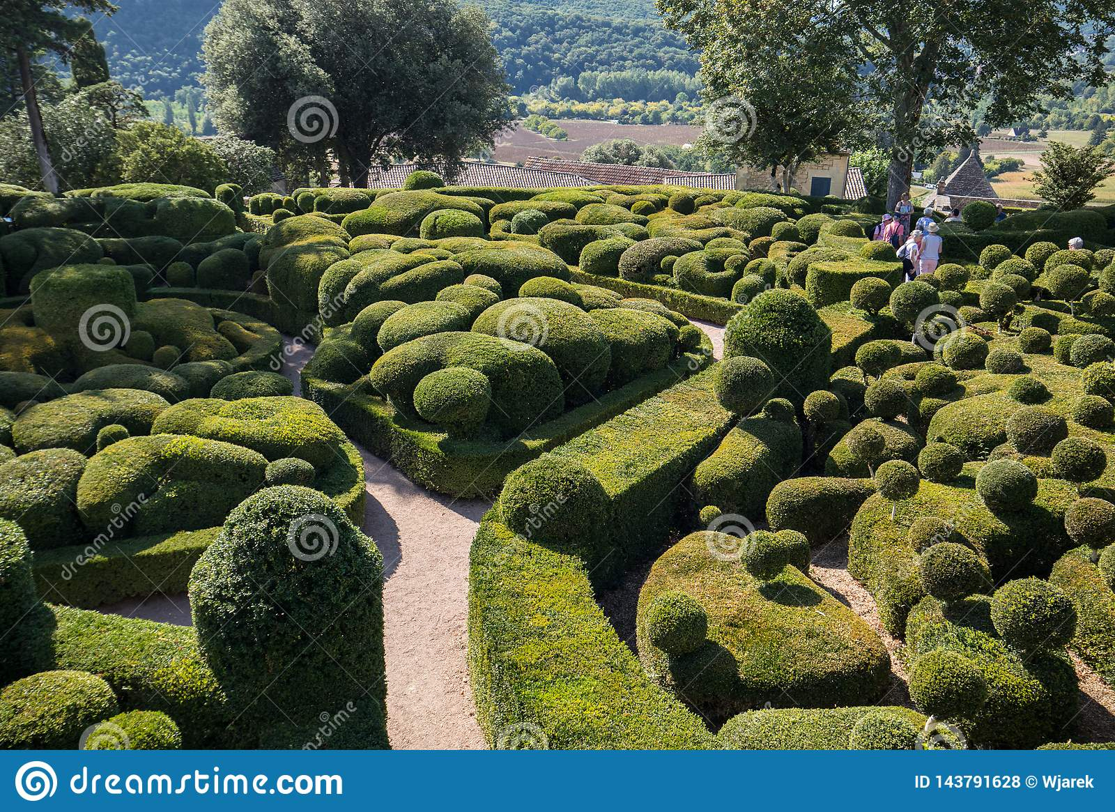 Topiary In The Gardens Of The Jardins De Marqueyssac In The serapportantà Region De France 2018