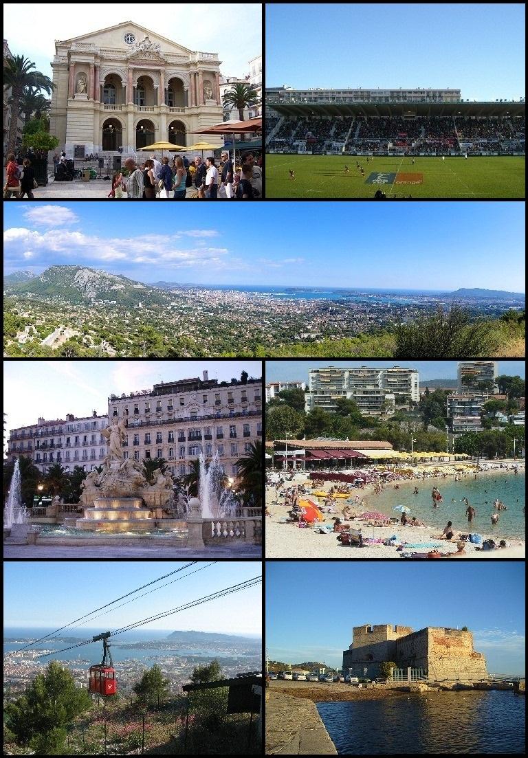 Toulon - Wikipedia dedans Combien De Region En France