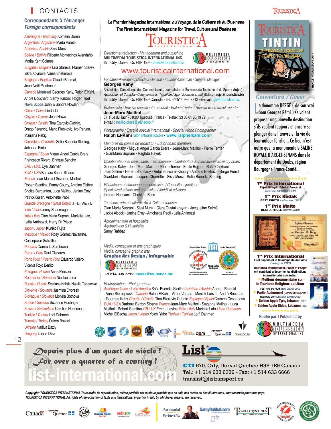 Touristica 105 - Calameo Downloader pour Liste De Departement De France