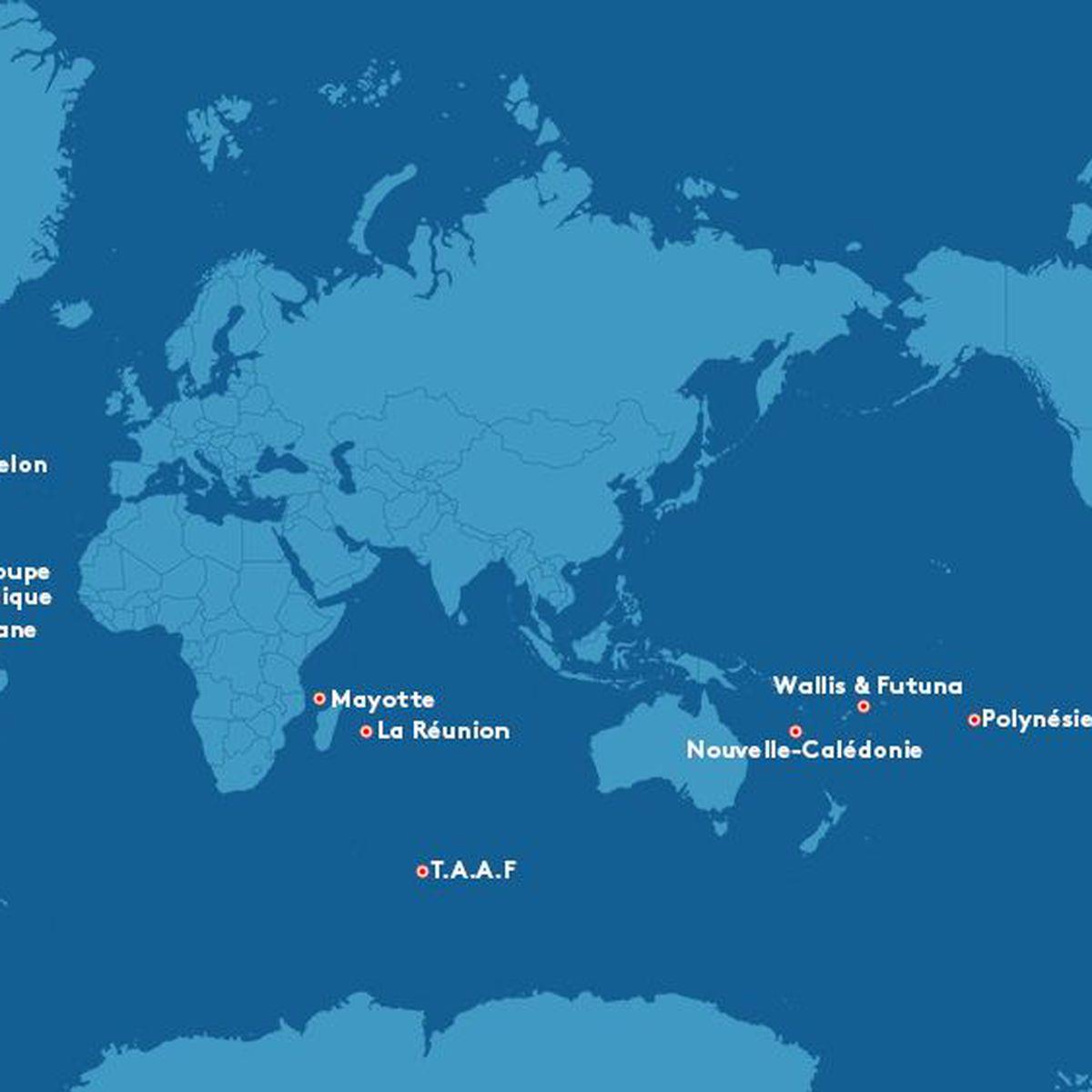 Tout Ce Que Vous Avez Toujours Voulu Savoir Sur Les Outre concernant France Territoires D Outre Mer