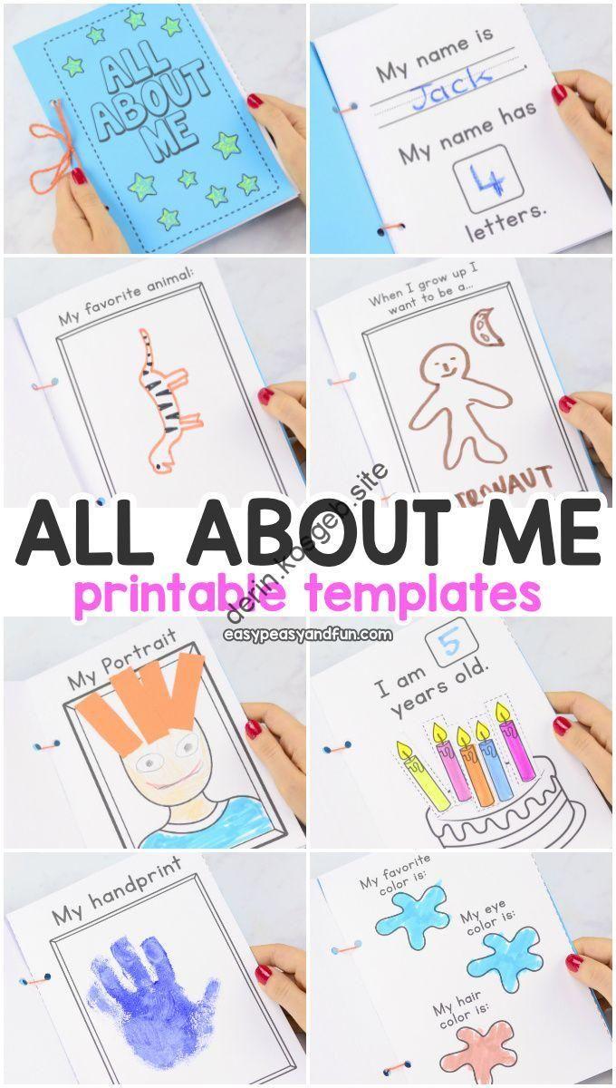 Tout Sur Moi Modèles Imprimables. Cahier D'activités Amusant pour Cahier D Activité A Imprimer