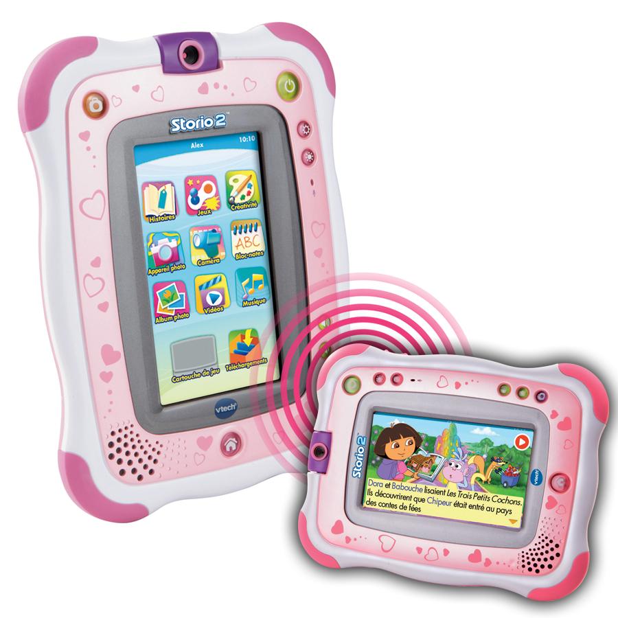 Toutsurtout.biz / [Idée De Cadeau Pour Noël] Console Storio à Tablette Enfant Fille