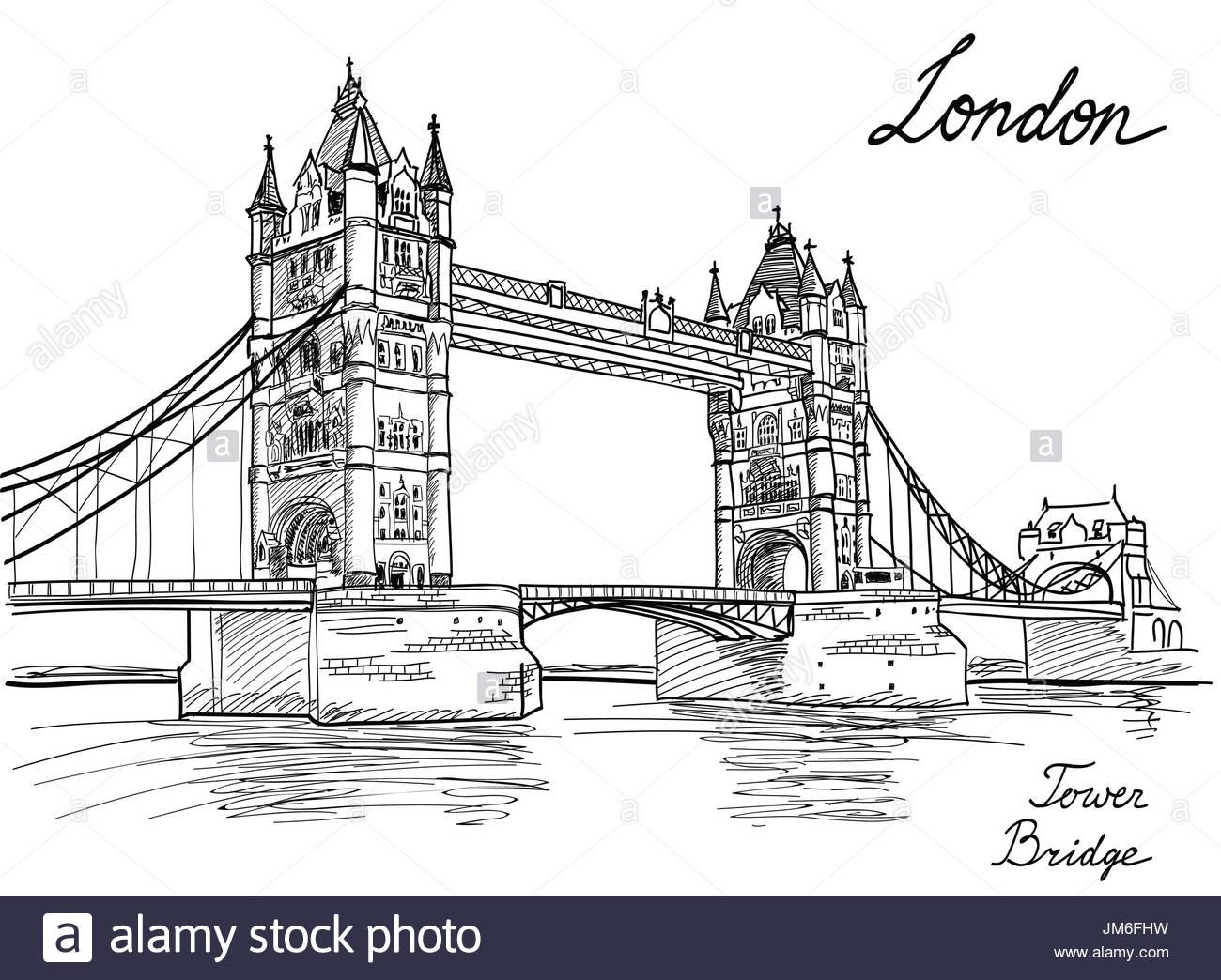 Tower Bridge, Londres, Angleterre, Royaume-Uni, Europe avec Dessin De Angleterre