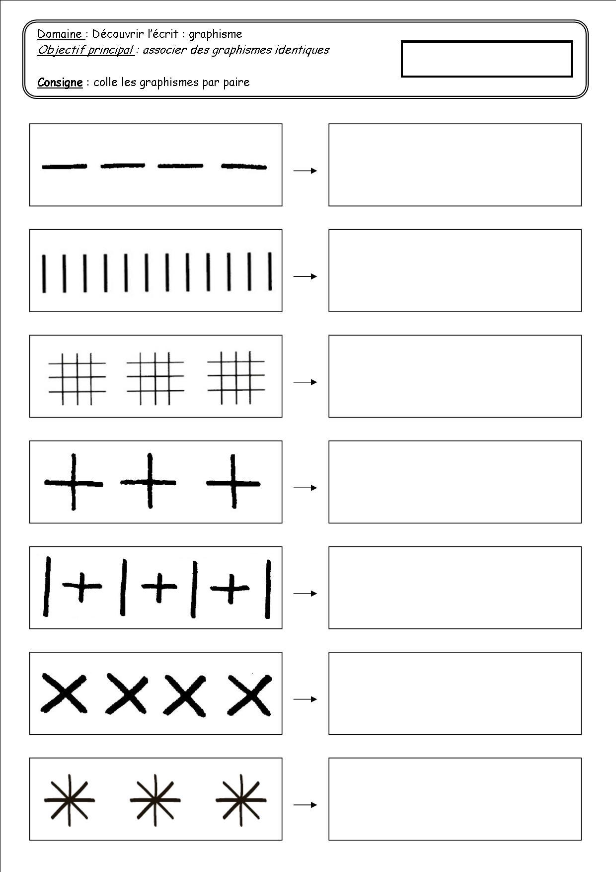 Traces Et Graphisme Ps - Ecole De Nadège avec Graphisme En Petite Section