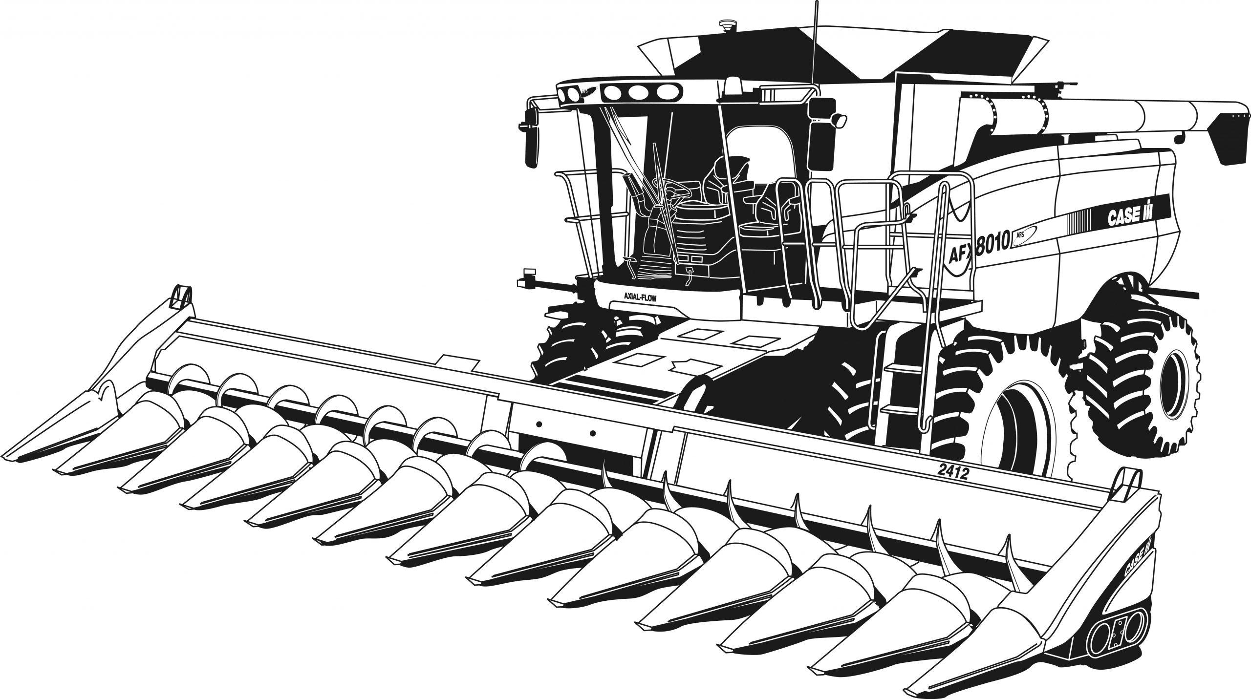 Tracteur #69 (Transport) – Coloriages À Imprimer intérieur Dessin De Tracteur À Colorier