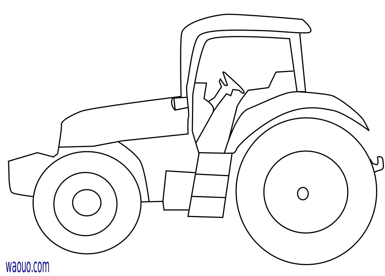 Tracteur Coloriage Tracteur Gratuit Imprimer Et Colorier avec Dessin Animé De Tracteur John Deere