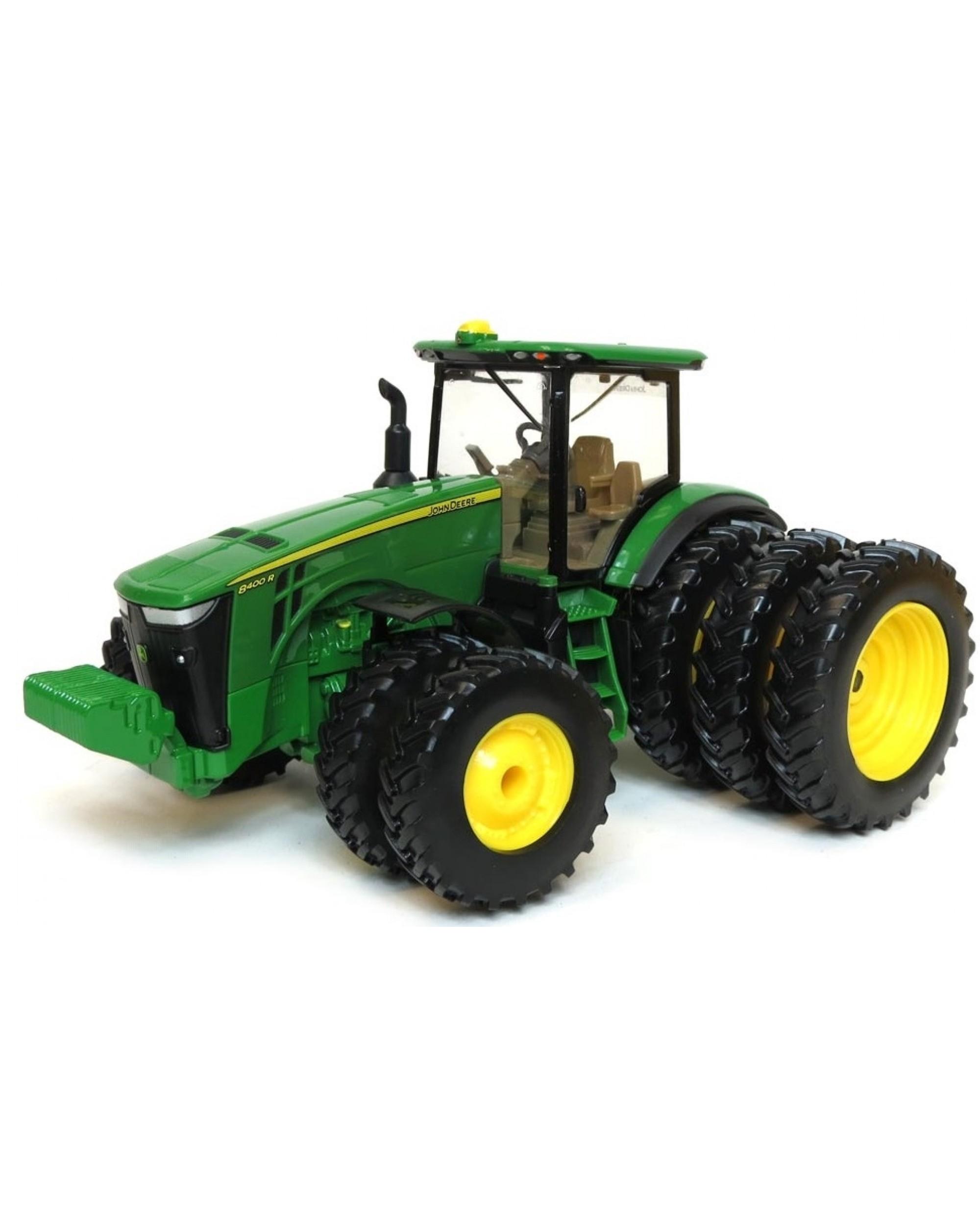 Tracteur John Deere 8400R Roues Arrières Triplées Et Roues Jumelées Avant destiné Dessin Animé De Tracteur John Deere