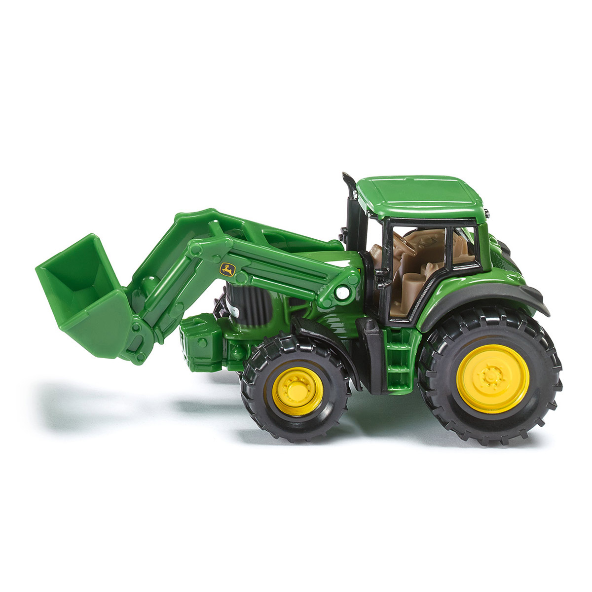 Tracteur John Deere Avec Chargeur Frontal À L'échelle 1/64E destiné Dessin Animé De Tracteur John Deere