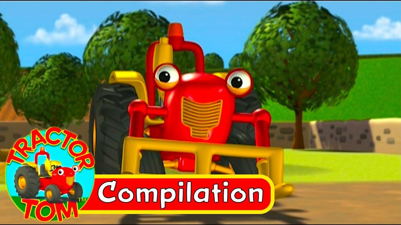 Tracteur Tom - Compilation 1 (Français) dedans Sam Le Tracteur Dessin Anime