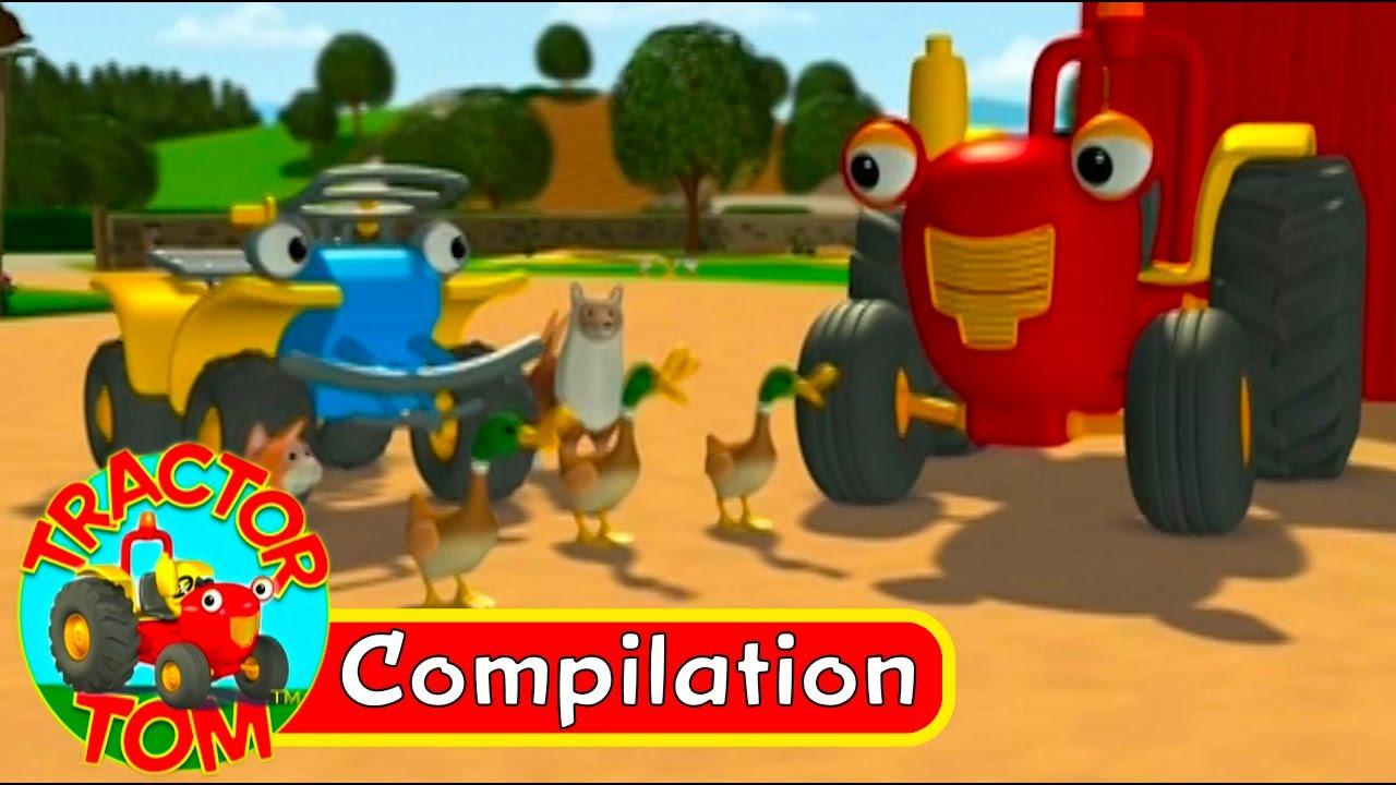Tracteur Tom - Compilation 4 (Français) à Sam Le Tracteur Dessin Anime