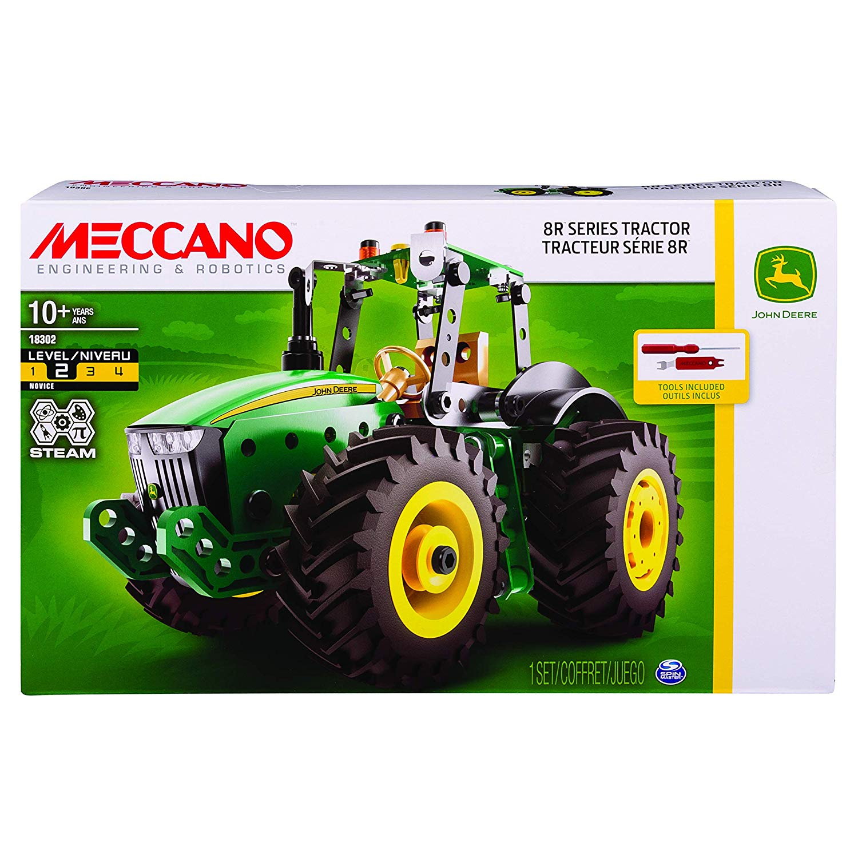 Tractor 8R John Deere Meccano To Be Built dedans Image Tracteur John Deere