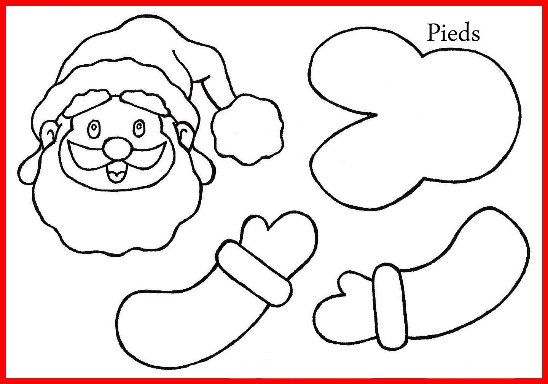 Traîneau Du Père Noël - Créamama encequiconcerne Pere Noel A Imprimer Et A Decouper