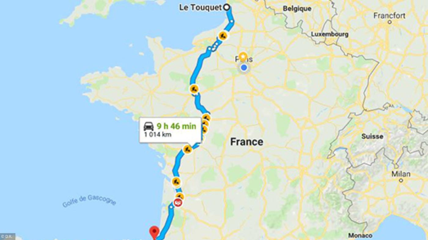 Trajet En Voiture: Préparer Votre Itinéraire Sur Internet destiné Petite Carte De France A Imprimer