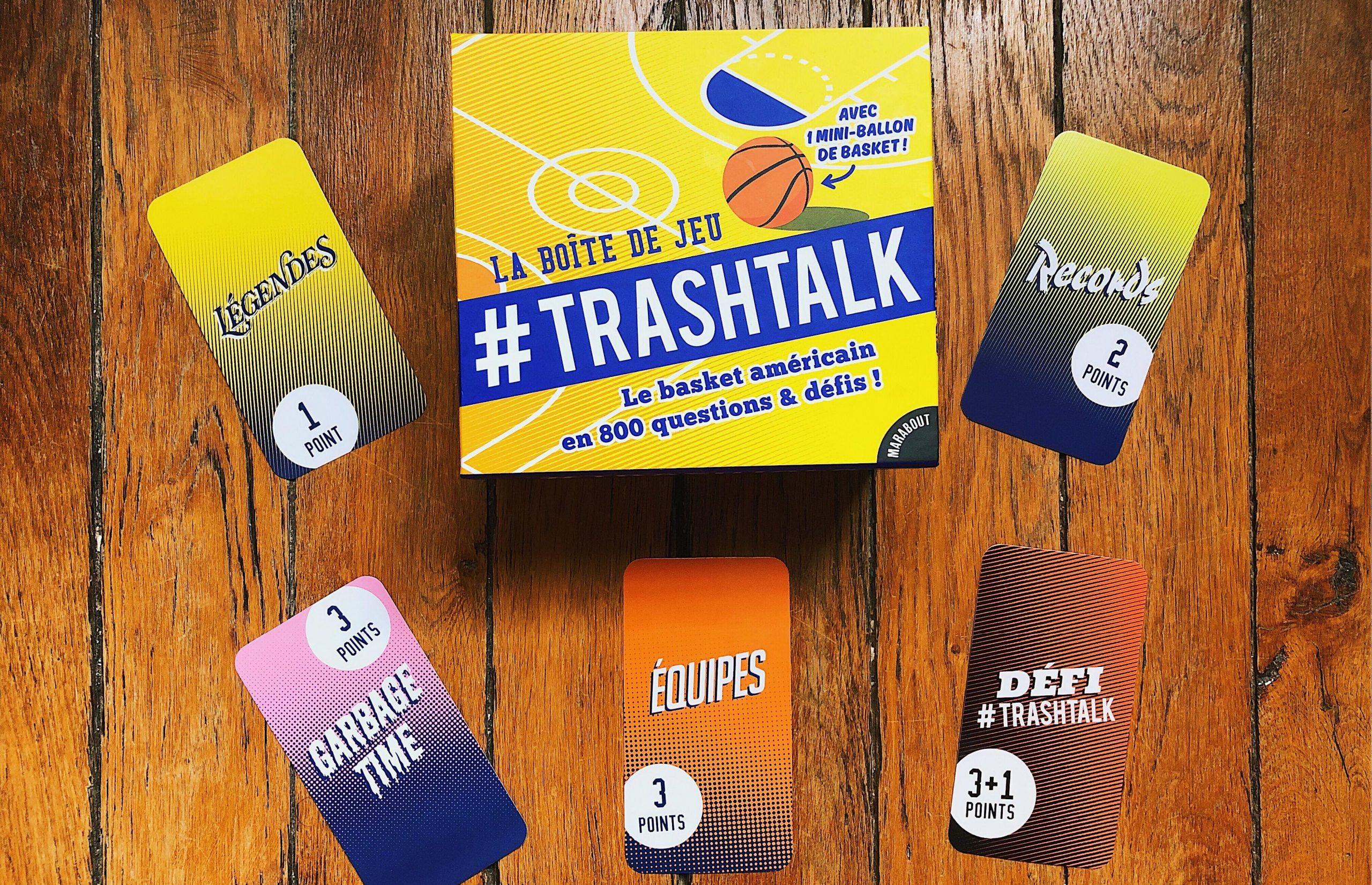 Trashtalk Sort Sa Boîte De Jeu : 800 Questions Et Défis Xxl encequiconcerne Jeux Avec Des Questions