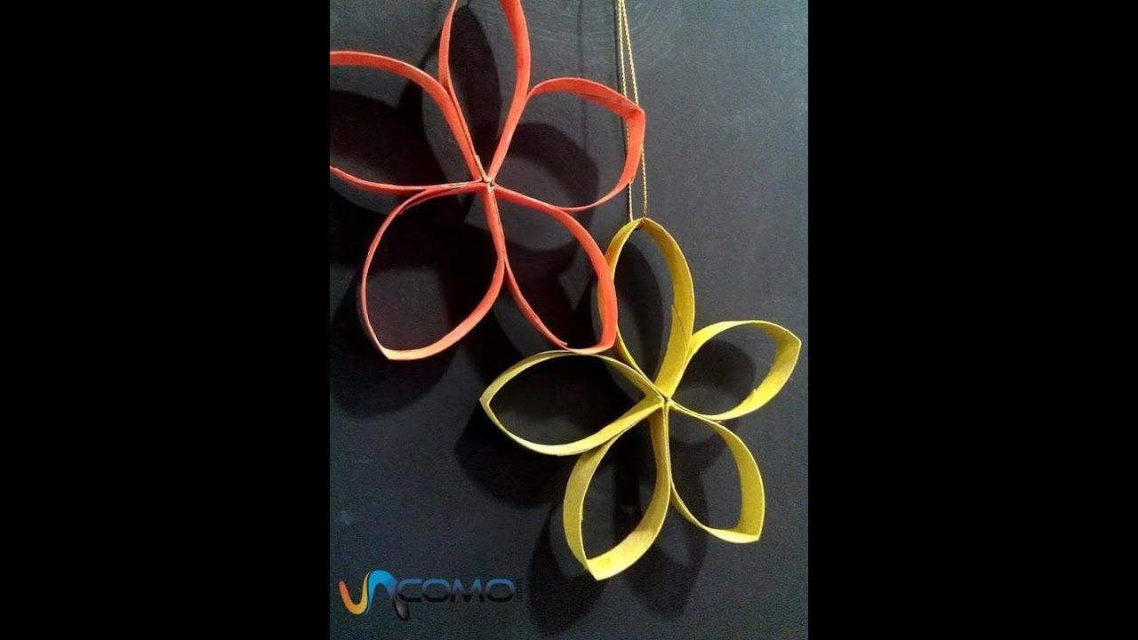 Travail Manuel Facile // Faire Une Fleur En Papier Carton à Travaux Manuels Simples A Realiser