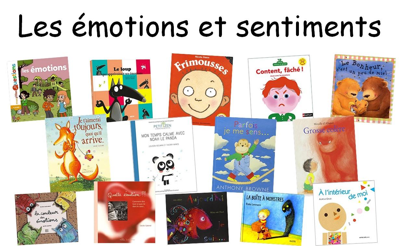 Travailler Les Émotions Et Sentiments À Travers Des Albums avec Jeux Educatif Maternelle Petite Section