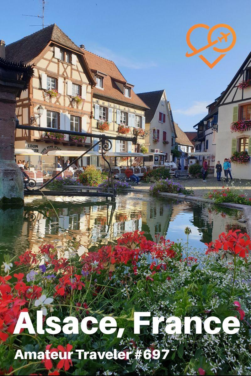 Travel To The Alsace Region Of France - Episode 697 serapportantà Liste Region De France