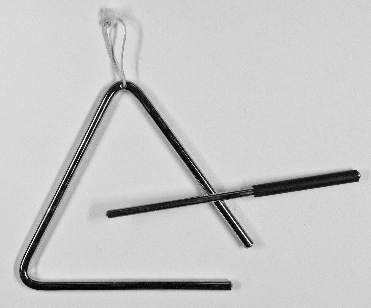 Triangle (Instrument) — Wikipédia à Image Instrument De Musique À Imprimer