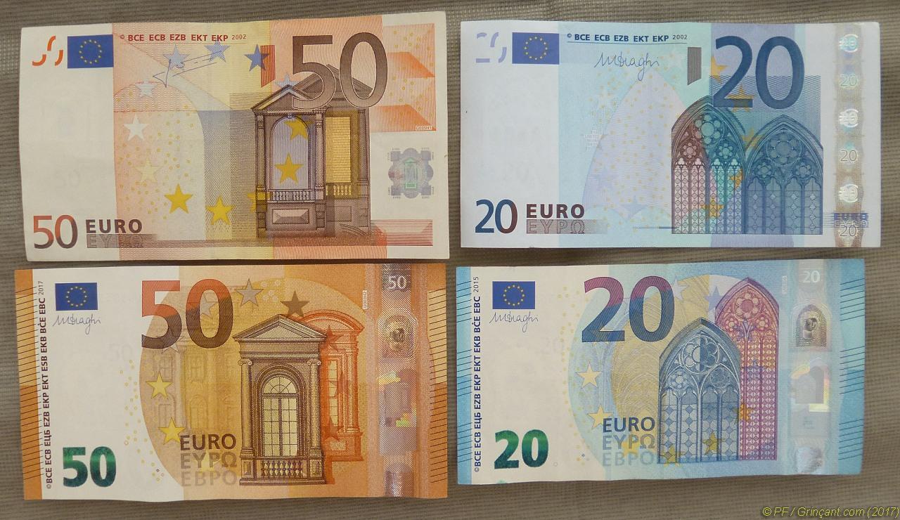 Tronches De Billets De Banque, Politiques Et Euros | Grinçant intérieur Faux Billet A Imprimer