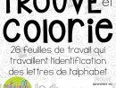 Trouve Et Colorie - Les Lettres De L'alphabet (French intérieur Apprendre L Alphabet En Francais Maternelle
