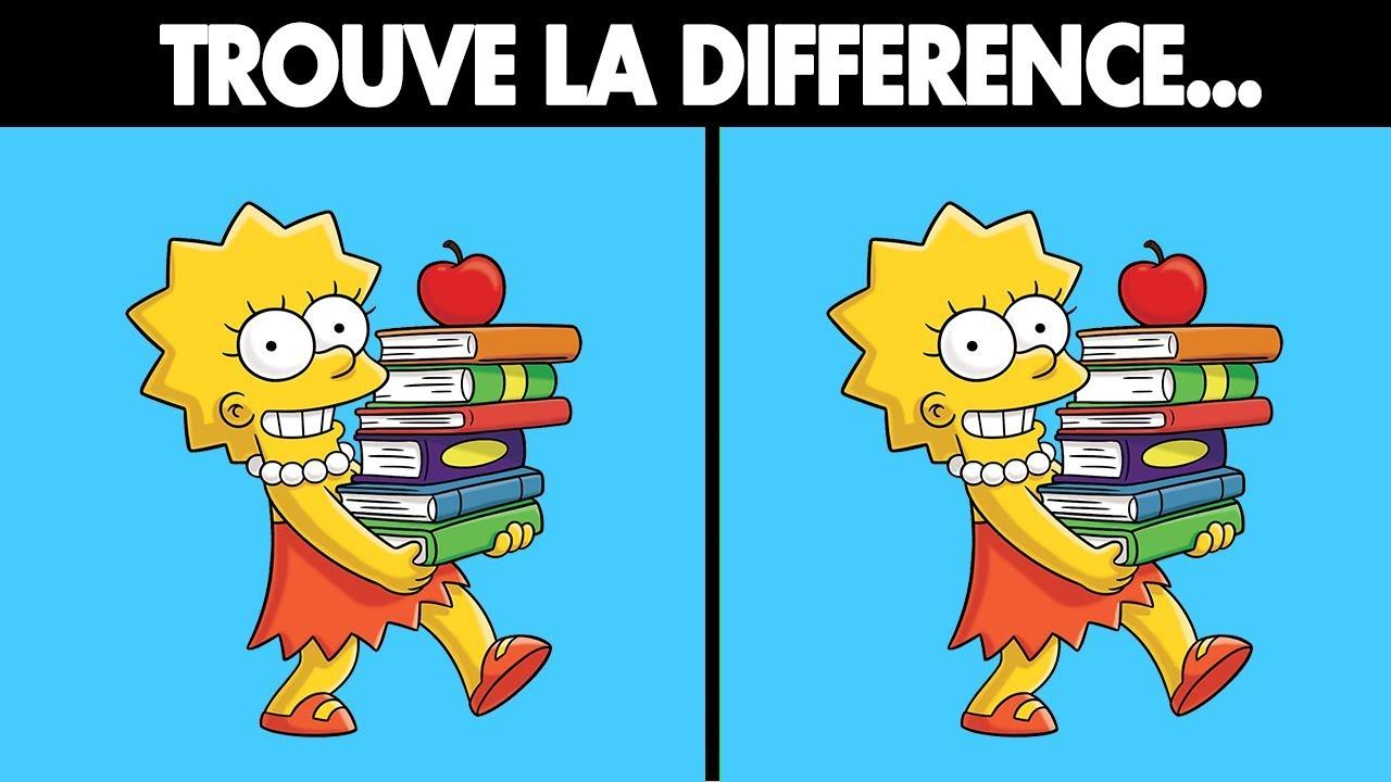 Trouve La Différence (Énigmes Visuelles) intérieur Trouver Les Difference