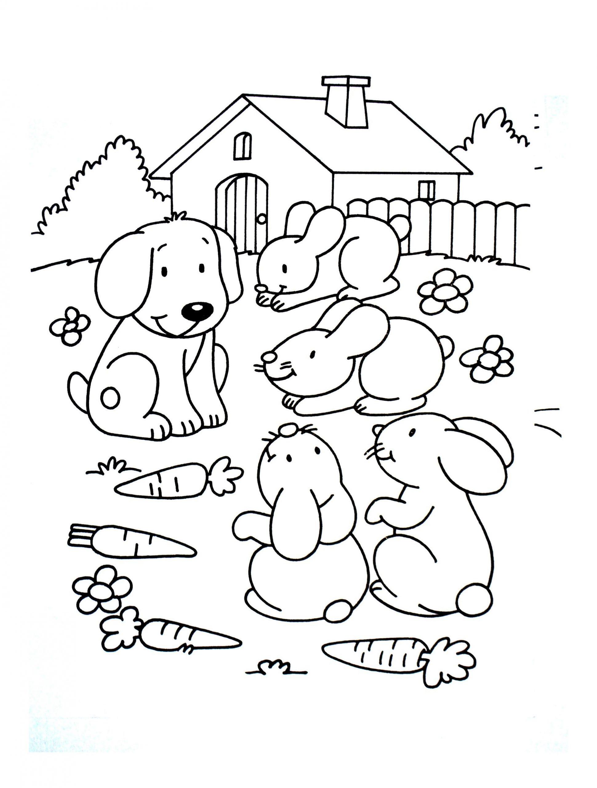 Trouver 25 Coloriage A Imprimer Gratuit Animaux De La Ferme à Dessin Animaux De La Ferme À Imprimer